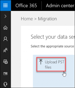 upload PST to Shared Mailbox Office 365