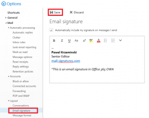 How To Create Email Signature In Office 365 Outlook Step By Step Tip