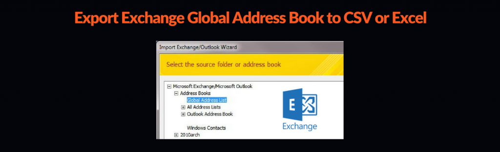 Export Exchange Global Address Book